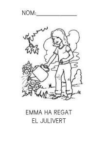 Emma ha regat el julivert