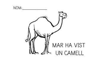 Mar ha vist un camell