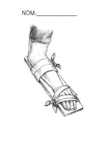 El pare d´Eric s´ha trencat el braç