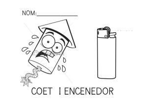 Coet i encenedor