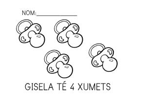 Gisela té xumets