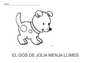 El gos de Júlia menja llimes