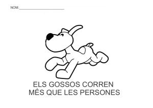 Els gossos corren mes que les persones