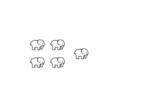 Contem 5 elefants B